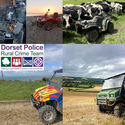 DORSET POLICE ISSUE WARNING AS ATV AND UTV THEFTS RISE
